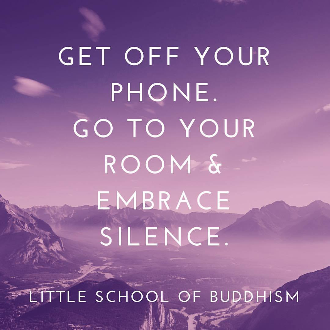 LSOB - Get Off Your Social Media. Go To Your Room & Embrace Silence