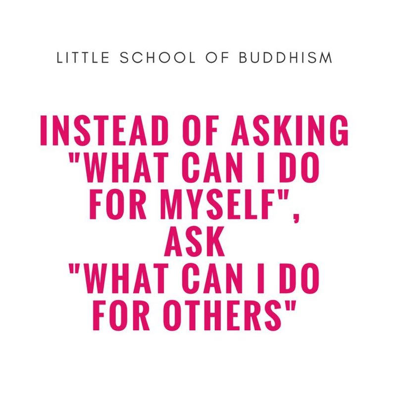 LSOB - True, Long Lasting Happiness Lies In Giving. Instead of Asking What Can I Do For Myself, Ask What Can I Do For Others