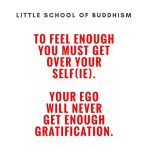 Need: To Feel Enough You Must Get Over Your Self(ie). Your Ego Will Never Get Enough Gratification.